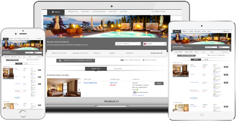 Hotel Reservation System with Many Features